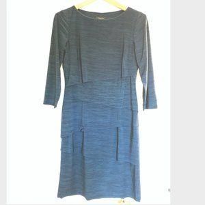 Tahari : Teal Three Quarter Formal Dress - size 4